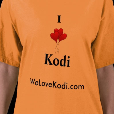 I Love Kodi T-Shirt